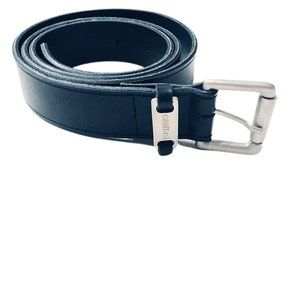 Contrast Black Belt with Silver Buckle